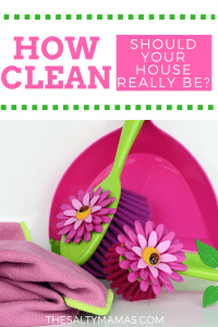Hint: Not as clean as you might think. Unless your mother-in-law is coming, that is. Read our funny take on cleaning tips, from thesaltymamas.com.
