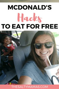 Have you had YOUR break to day? A better way to do McDonald's, from TheSaltyMamas.com. #McDonalds #MoneySavingTips #MoneySavingHacks #DietCoke #FrenchFries