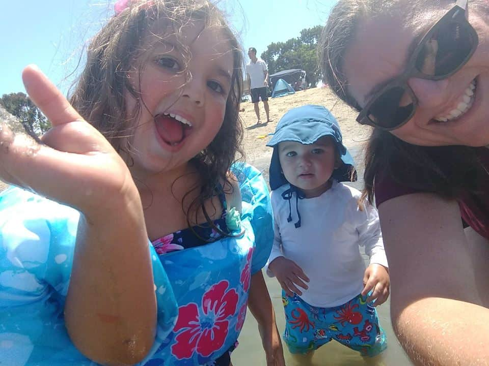 Triple Selfie at the Beach