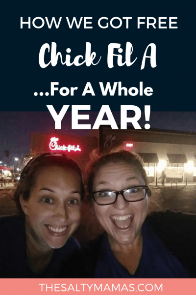 Curious about attending a Chick Fil A First 100 campout? We've broken it down hour by hour so you can know what to expect- and what you'll walk away with!- at TheSaltyMamas.com. #chickfila #chickfilafirst100 #cfafirst100