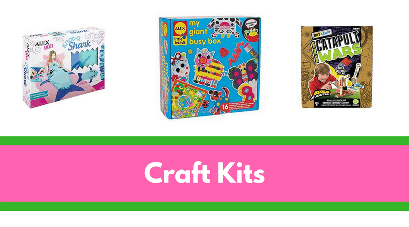 Craft kits make amazing gifts for the kid who has everything- and no space to store it in!