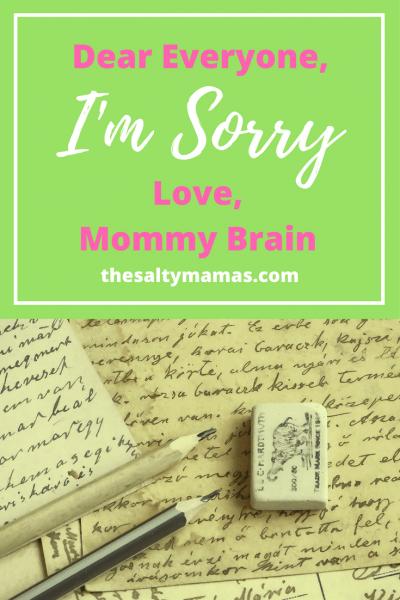 #mommybrain #momlife #momblogger #pregnancy #lifewithkids #momproblems