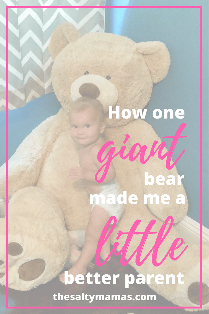 How one bear made me a better parent