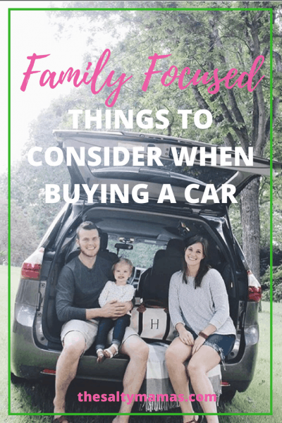 In the market for a new family car? Check out our tips of things to consider to make the process much easier, from thesaltymamas.com #carscom #newcar #carshopping