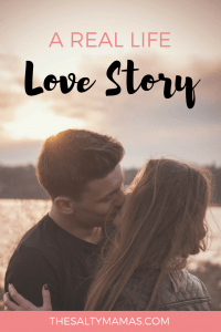 Of all the people in the world- you're my favorite. A real-life love story, from thesaltymamas.com. #marriedlife #marriage #relationshipgoals #wifey #wifelife #lovestory #lovestories