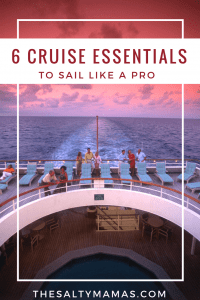 Wondering what to bring on a cruise? These 6 Essentials will have you sailing like a pro! #cruisetips #cruisepackinglist