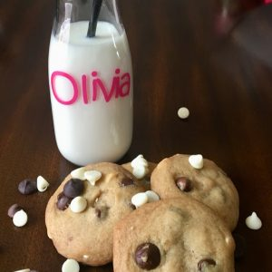 Try our kid-approved Browned Butter Triple Chip Cookie Recipe- with a simple gluten free variation!-from thesaltymamas.com.  #triplechipcookies #brownedbuttercookies #glutenfreecookierecipe #glutenfreecookies