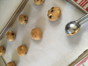 Try our chewy, gooey, Triple Chip Browned Butter Cookie Recipe. And it's equally delcious as a Gluten Free Cookie Recipe! Find out how to make them at thesaltymamas.com.