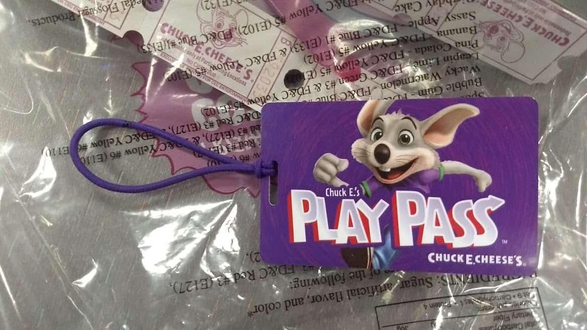 Chuck e cheese play pass