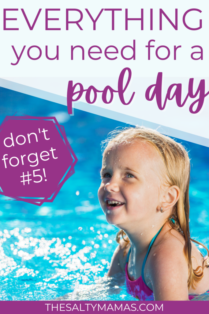Everything you need for the ULTIMATE pool day with kids, from The Salty Mamas