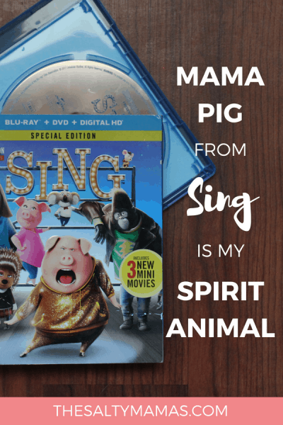 How did I not notice before- Rosita from Sing is every SAHM- EVER. Laugh along with our too-real comparison at TheSaltyMamas.com #momhumor #humor #funny #hilarious #parenting #momlife #sahm #sahmlife #sing #rositafromsing #kidsmovies