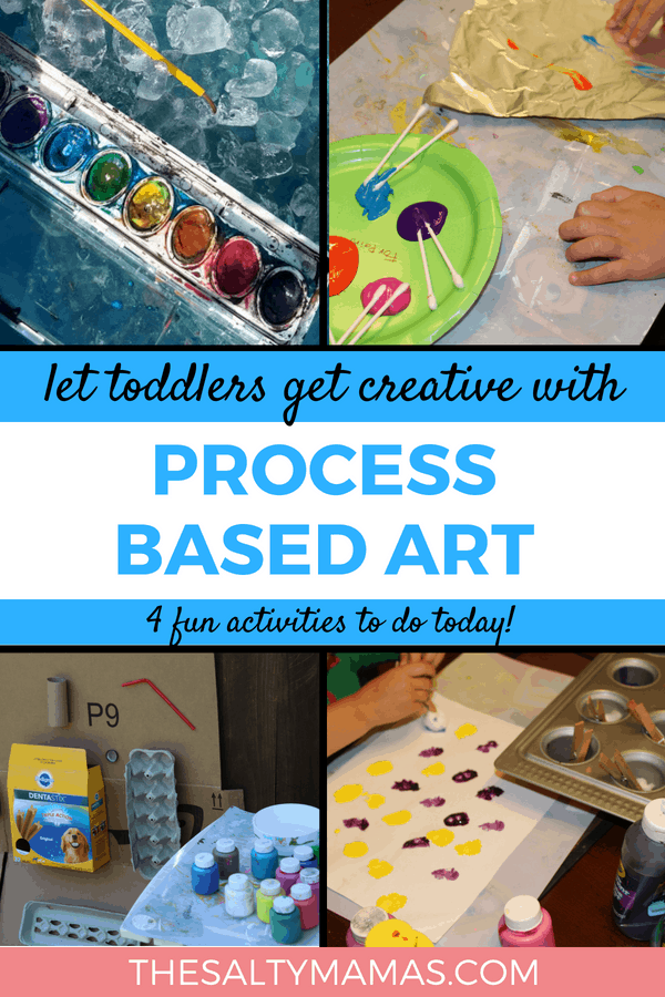 Kids Get Creative With These 4 Fun Process Art Activities The Salty Mamas