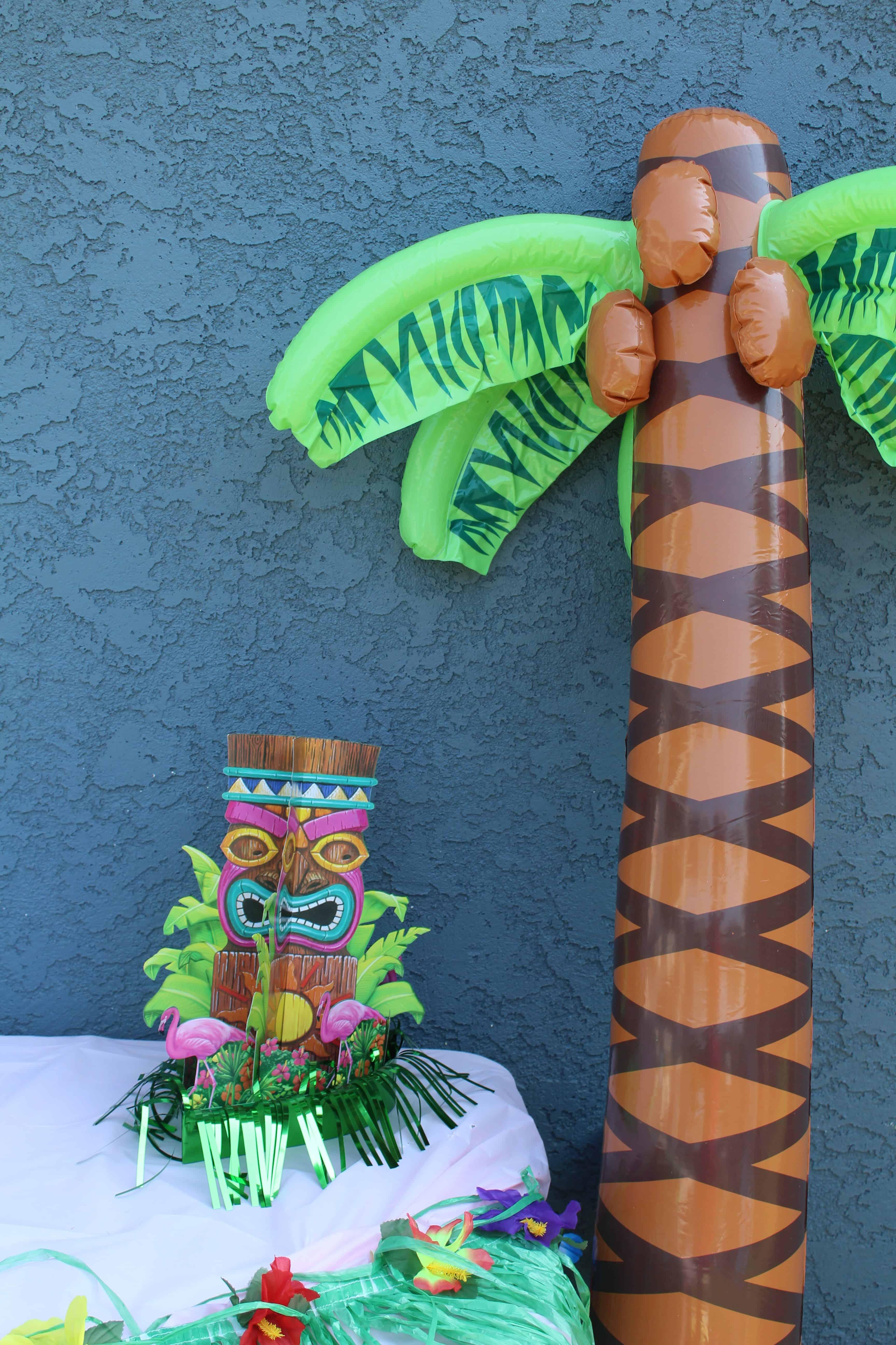 inflatable kids luau decorations