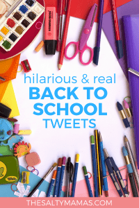 Hilarious and real back to school tweets from Moms and Dads who GET IT! #backtoschool #firstdayofschool #twitterroundup #tweetroundup #mommyhumor #momhumor #traditions #kindergarten #preschool #firstdayofschool2018 #firstdayofpreschool #firstdayofpreschool2018 #firstdayofkindergarten #firstdayofkindergarten2018 #backtoschool2018