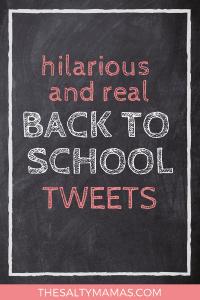 Hilarious and real back to school tweets from Moms and Dads who GET IT! #backtoschool #firstdayofschool #twitterroundup #tweetroundup #mommyhumor #momhumor #traditions #kindergarten #preschool #firstdayofschool2018 #firstdayofpreschool #firstdayofpreschool2018 #firstdayofkindergarten #firstdayofkindergarten2018 #backtoschool2018