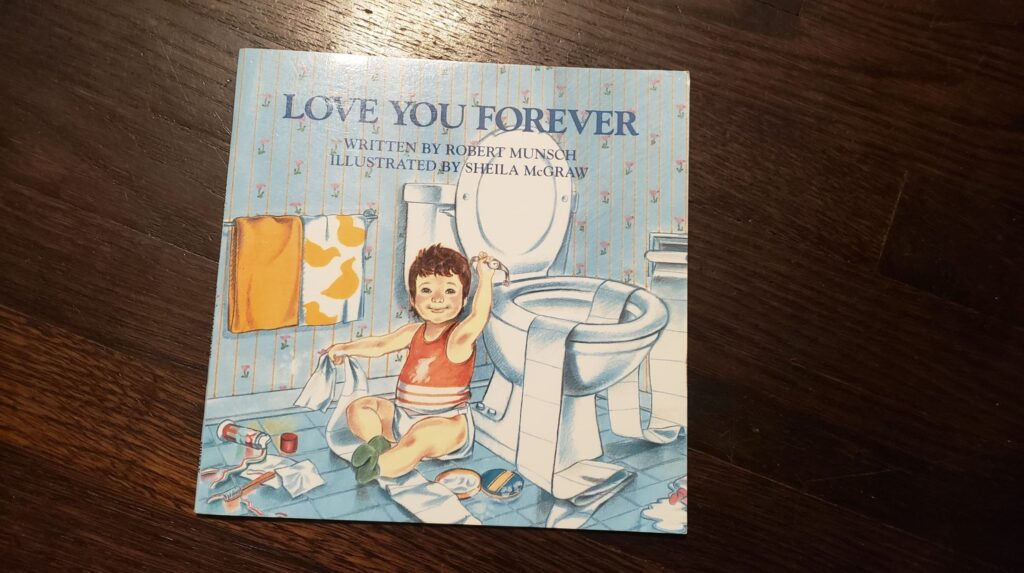 I love you forever kids book