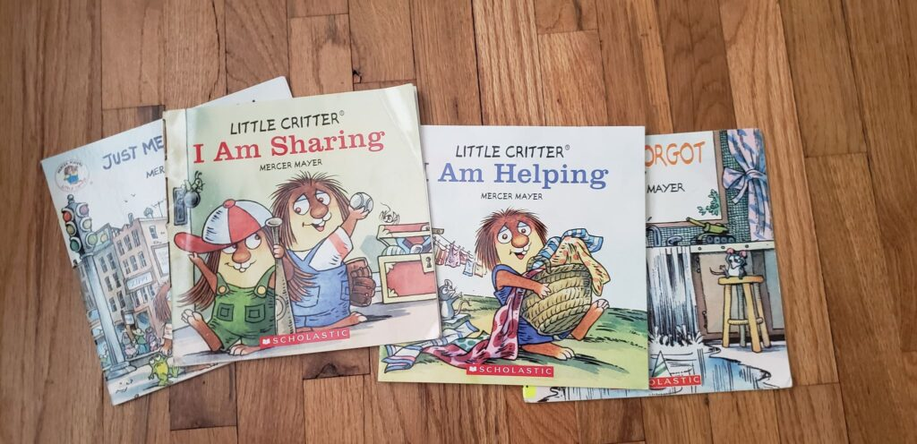 copies of little critter books