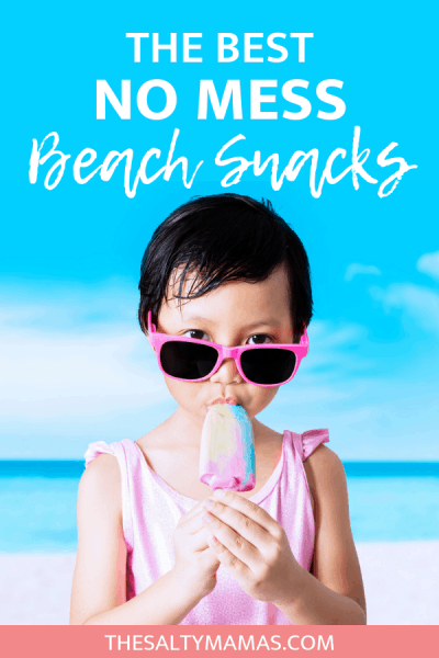 Heading to the beach with kids! Check out this list of the BEST snacks - that won't get sandy - for a day at the beach! #summer #summervibes #beachday #beachdaysnacks #bestbeachsnacks #beachsnacks #summersnacks #bestsummersnacks #dayatthebeach #summer