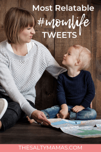 Laugh your way through #momlife with these hysterical and relatable tweets! #momhumor #mommyhumor #parentinghumor #funnyparents #funnyparenting #parenttwitter #twitterroundup #funnytweets #besttweets #funniesttweets