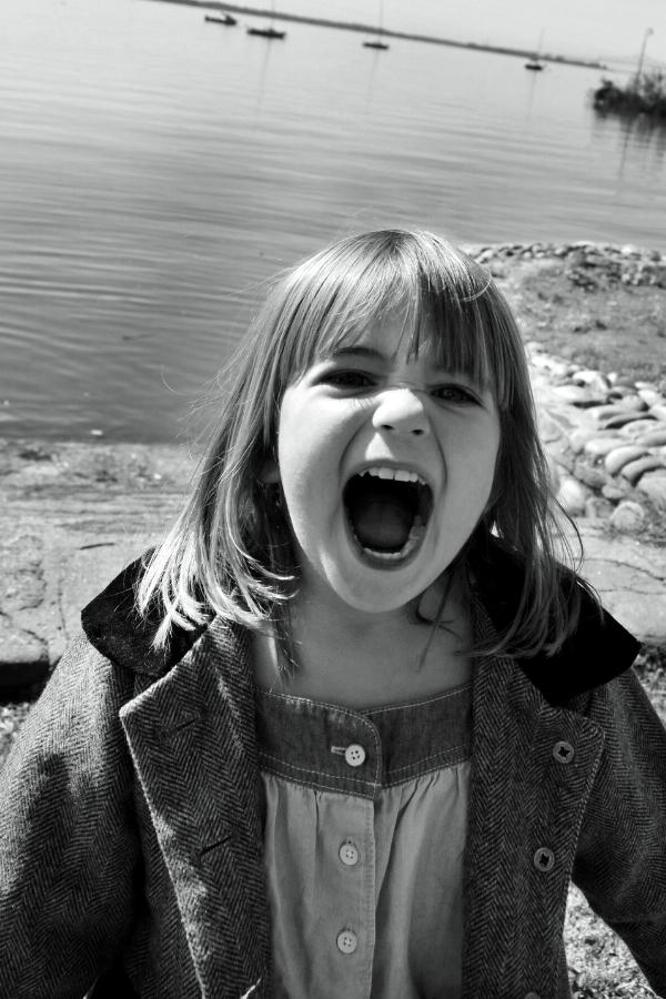 toddler yelling
