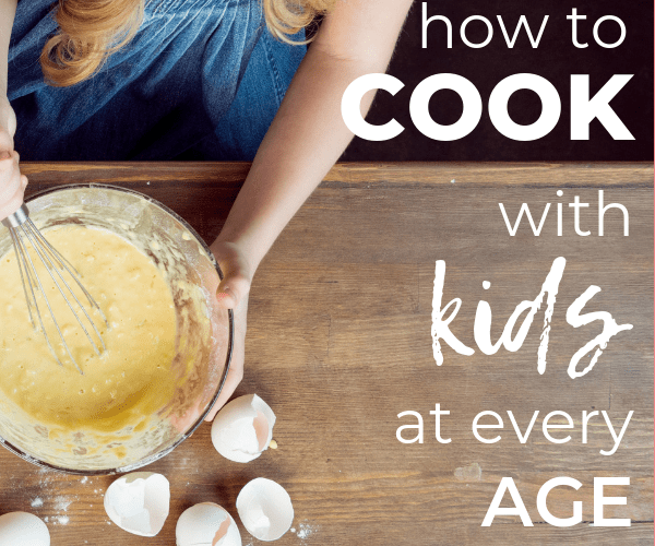 Cooking with Kids of All Ages