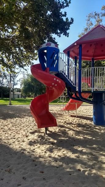 The Slide at a public park