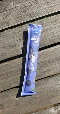 tube of frozen yogurt