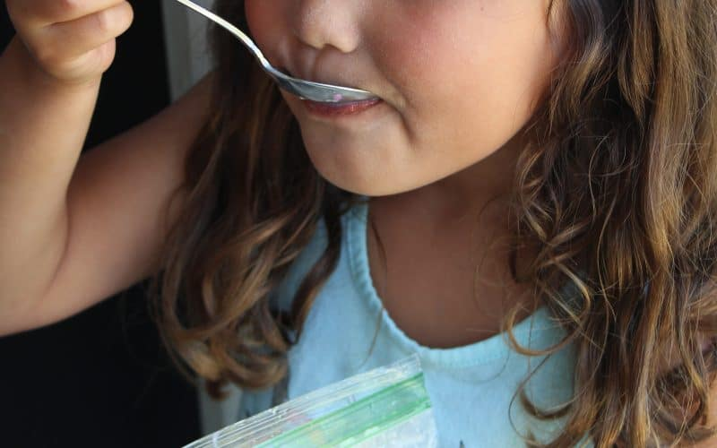 STEM in Action: Homemade Ice Cream in a Bag for Kids