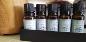essential oils in various scents