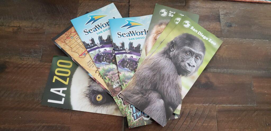 zoo travel brochures