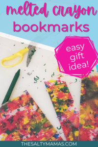 Melted Crayon Art: Bookmarks!