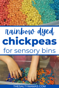 How to Dye Chickpeas (And a Rainbow Dyed Chickpea Recipe!)
